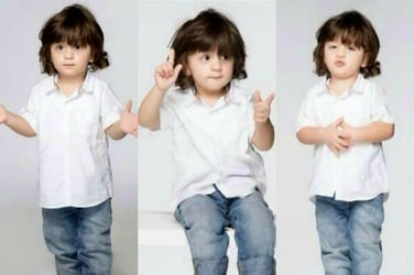AbRam has a special message for his fans and it's the cutest thing you'll see today