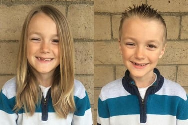 7-year-old boy diagnosed with cancer, three years after he donated hair to cancer survivors