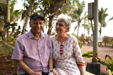 This Mumbai couple have been married happily for 52 years and their secret is...