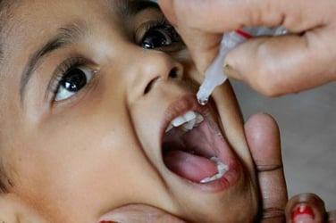 Active polio strain found in Telangana waters! Read tips for parents (inside)