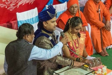 This unusual wedding had no mahurat or shlokas, only a pledge of allegiance to the Indian Constitution