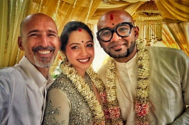 We can't get over singer Benny Dayal's beautiful pastel wedding (pics inside)!