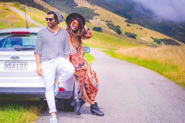 Life goals: This young couple makes a living out of travelling and looking great