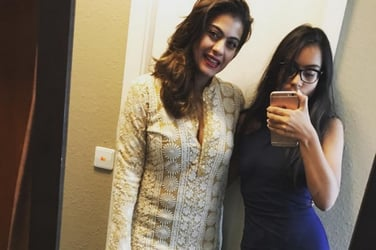 What are Kajol and her daughter upto? This picture dishes their secret!