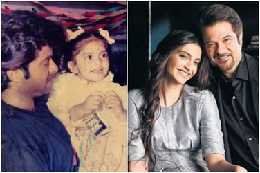 Look! Dad Anil Kapoor shares a super cute pic of daughter Sonam on her birthday