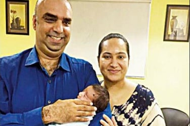 India's first 'Hi-tech' baby born to a Bengaluru-based couple