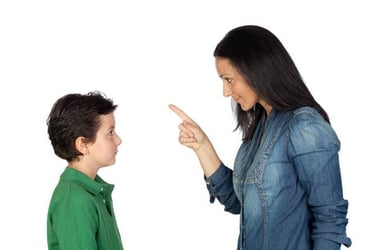 6 ways to reprimand your kids without yelling