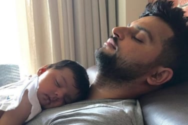 Daddy's little girl! This picture of Suresh Raina with his daughter would melt your hearts
