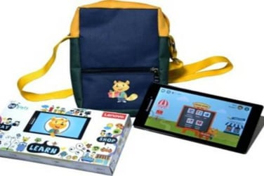 This NCERT curriculum-mapped tablet is a great learning product for your kid!