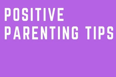 Infographic: Positive parenting tips