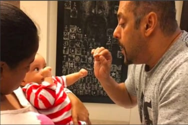 Watch! Salman Khan singing to nephew Ahil is the sweetest thing you will see today!