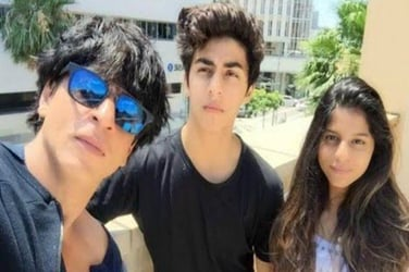 Shah Rukh Khan has major separation anxiety as son Aryan leaves to the US for higher studies