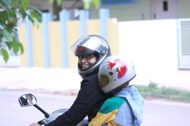 Safety first: Helmets for kids above four years soon to be compulsory in India