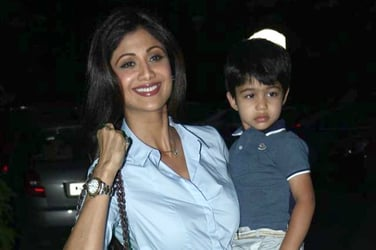 Shilpa Shetty's son Viaan is a born dancer, just like his mother! (Video Inside)