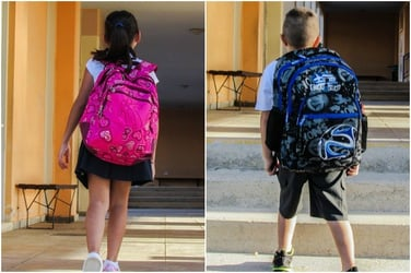 Parents are sending their kids to school without bags, here's why you should too!