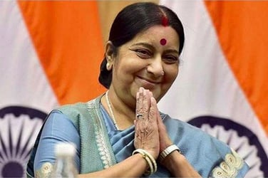 Sushma Swaraj was unable to help this mother because even she cannot control THIS!