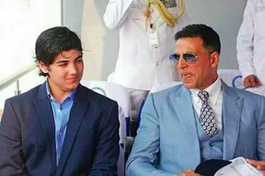 THIS is how Akshay Kumar is teaching his son to fend for himself!