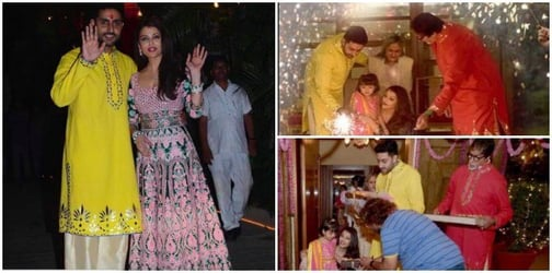 Everything you should know about the Bachchan's grand Diwali bash 2016