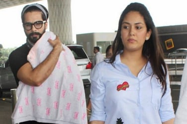 New dad Shahid Kapoor reveals daughter Misha's feeding pattern and his daddy duties