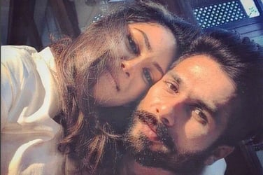 New dad Shahid Kapoor shares the first ever picture of Mira Rajput after delivery