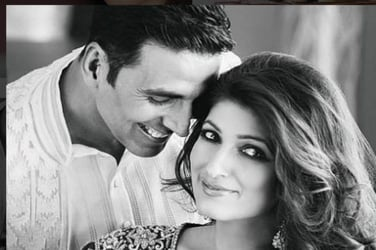 This is how Akshay Kumar and Twinkle Khanna are celebrating Diwali!