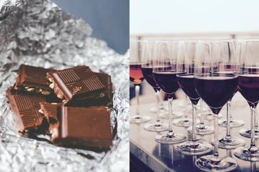 Red wine and dark chocolate can help correct hormonal imbalance in women