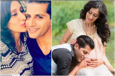 Dad-to-be Karanvir Bohra just posted an adorable poem for his wife Teejay!