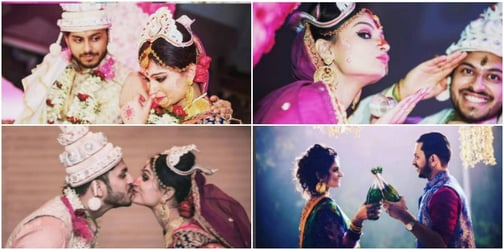 New mum Dimpy Ganguly celebrates first wedding anniversary with second husband!
