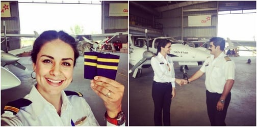 Actor, entrepreneur and politician Gul Panag scales new heights as she now becomes a pilot