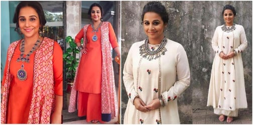Vidya Balan shows you the 5 statement silver jewellery pieces you must own!