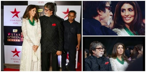 How sweet! Big B's day out with daughter Shweta Bachchan Nanda!