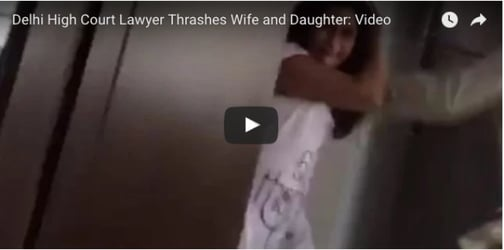India'a Shame! Delhi High Court lawyer physically abuses wife and daughter. The REASON will shock you