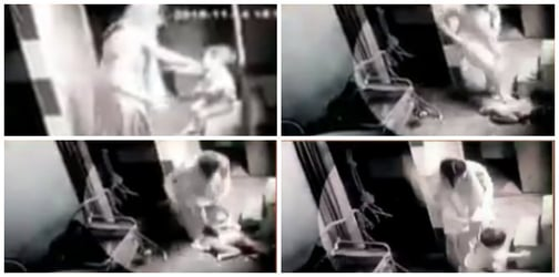This video of a mother brutally beating her OWN 18-month-old son would send chills down your spine!