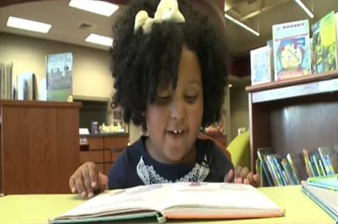 A bookworm at 4, this girl's ultimate goal will amaze you