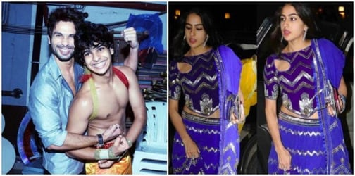 Is Saif's daughter Sara Ali Khan in a relationship with Shahid Kapoor's brother Ishaan?