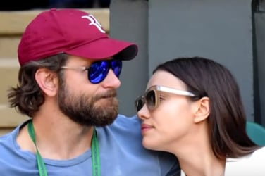Bradley Cooper gets 'excited' looking at his unborn child's scan! Aww!