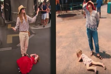 Deal with child tantrums the Drew Barrymore way!