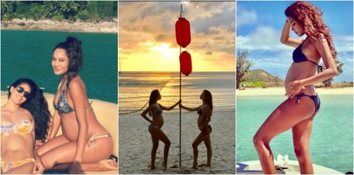 Mum-to-be Lisa Haydon shows you that PREGNANCY is a time to rejoice & how!