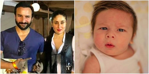 First pics: Baby Taimur Ali Khan's picture is proof that he's a prince in the making