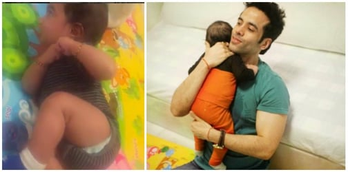 Watch! Tusshar Kapoor's son just hit THIS milestone and the single dad is over the moon!
