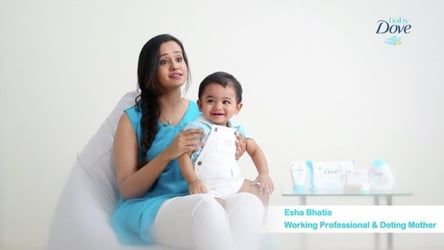 Real mum review: Baby Dove Rich Moisture Range makes baby's skin healthy and mum happy!