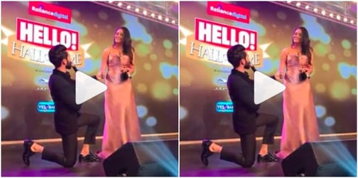 Watch: New dad Shahid Kapoor recreates the moment when he proposed to Mira!