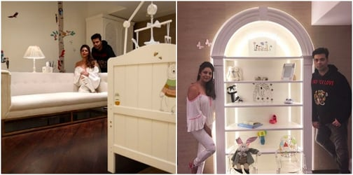 New dad Karan Johar is not allowing his friends to come over to see his babies!