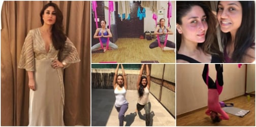 Kareena's workout regime helps her lose weight faster and makes her face glow!