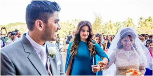 Raveena Tandon shares a great rapport with her son-in-law. Here's proof!