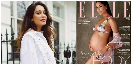 Pregnant Lisa Haydon shows you how to love your growing body, even in a bikini