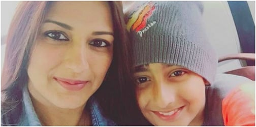 Mum Sonali Bendre has found a great way to bond with her son!