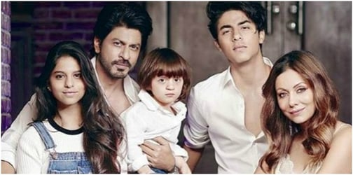 Shah Rukh reveals a surprising reason for adding the 'R' in his son's name