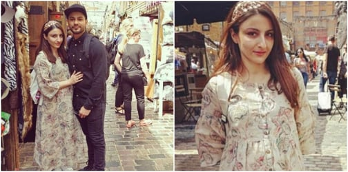 Glowing Soha Ali Khan is being extremely careful in her pregnancy. Here's why!