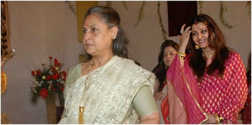 Jaya Bachchan is proving to be an overprotective mum-in-law to Aishwarya!